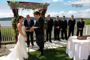 Hudson Valley wedding - The Rhinecliff - music by DJ Domenic