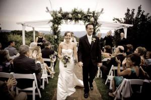 Bride and Groom Wedding garrison