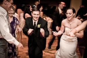 Garrison Wedding Dancing