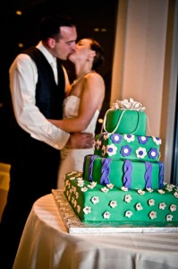 Bride and Groom Wedding Cake Garrison, NY