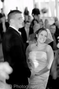 Bride and Groom Le Chamborde wedding