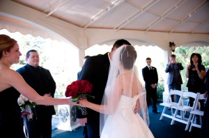 Catlin Gardens Wedding Ceremony