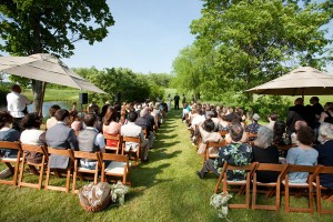 Wedding Ceremony Apple Barn Farm