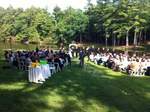 Twin Lakes Wedding Ceremony music by DJ Domenic