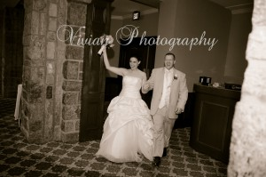 Thayer Hotel wedding couple