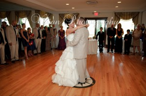 Bride and Groom First Dance at The Thayer Hotel