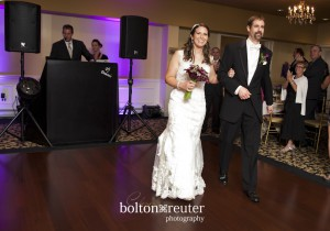 Bride and Groom Intro