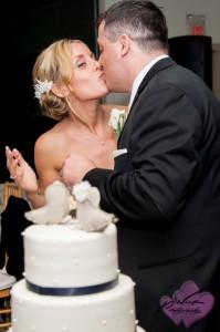 Cake Cutting Hudson Valley Wedding