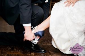 Garter Removal at wedding
