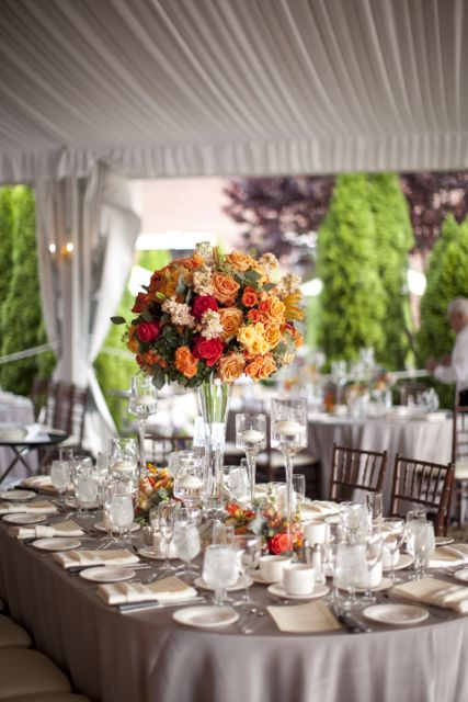 Grandview Wedding decor