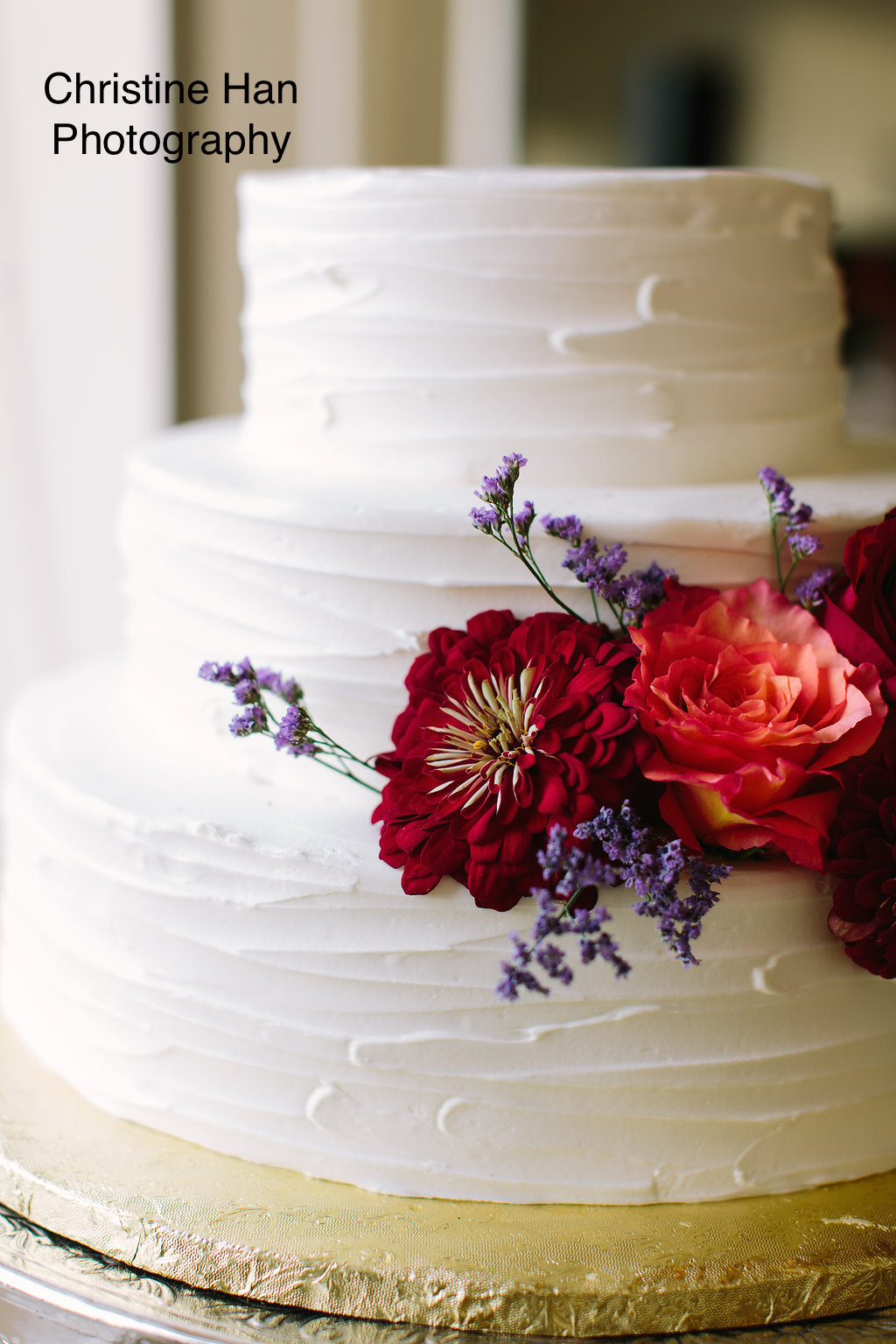 Wedding Cake at The Garrison From Christine Han Photography