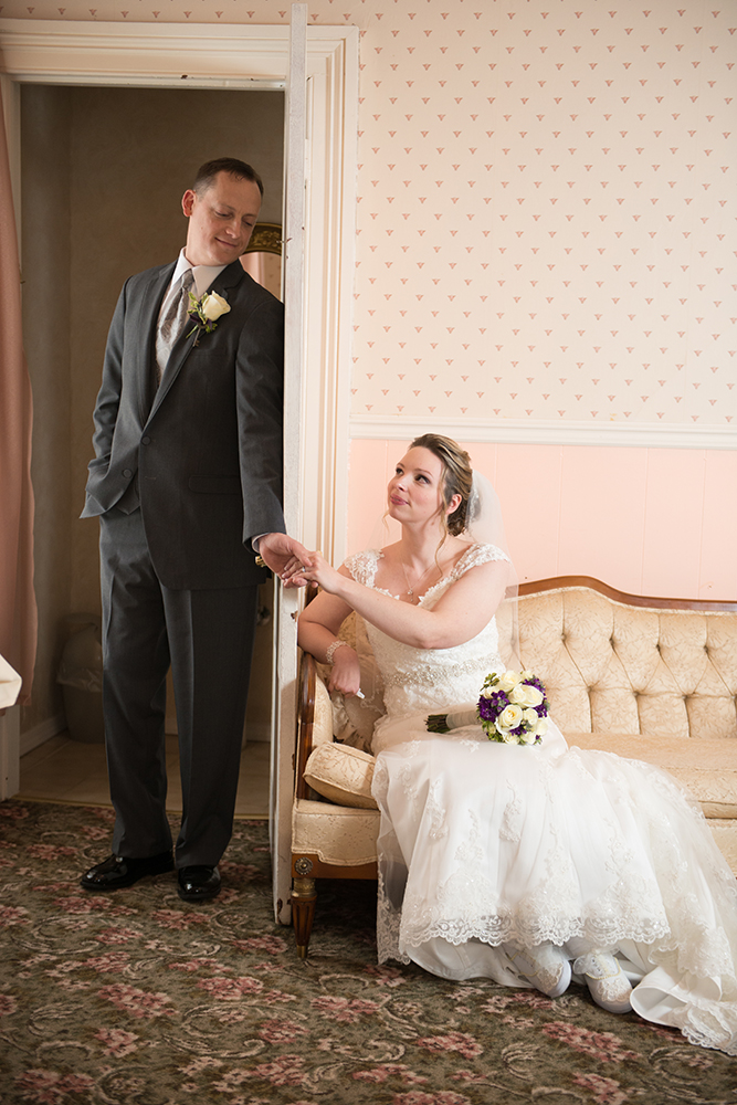 Dutchess Manor Bride and Groom