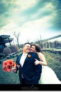 Hudson River Wedding couple, Dutchess Manor