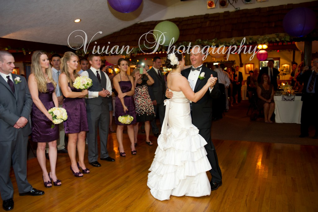 Hudson Valley Winery Wedding Father Daughter Dance