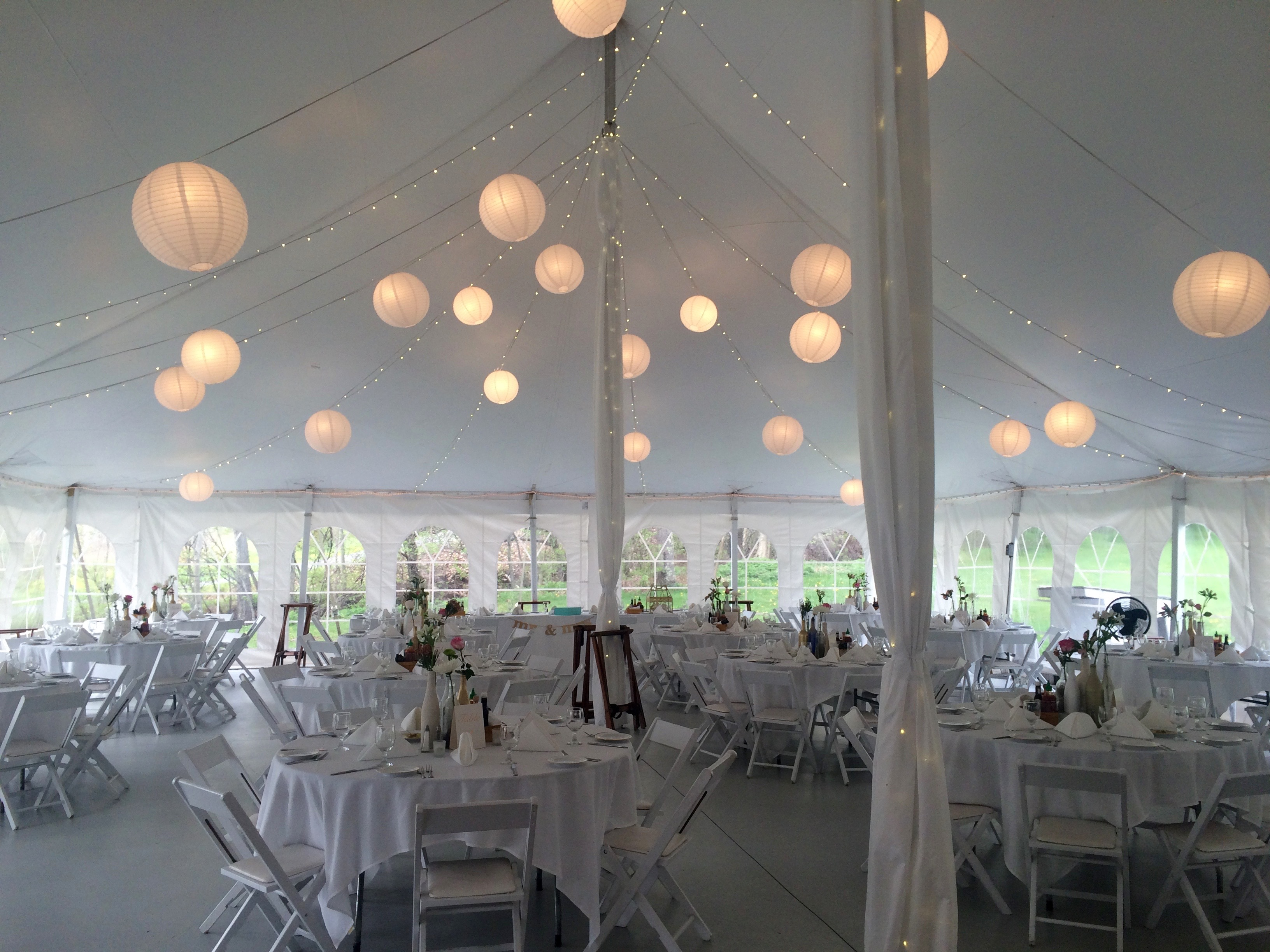 Beautiful Tent at Full Moon Resort - DJ Domenic