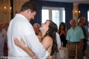 Madison Beach Hotel wedding couple