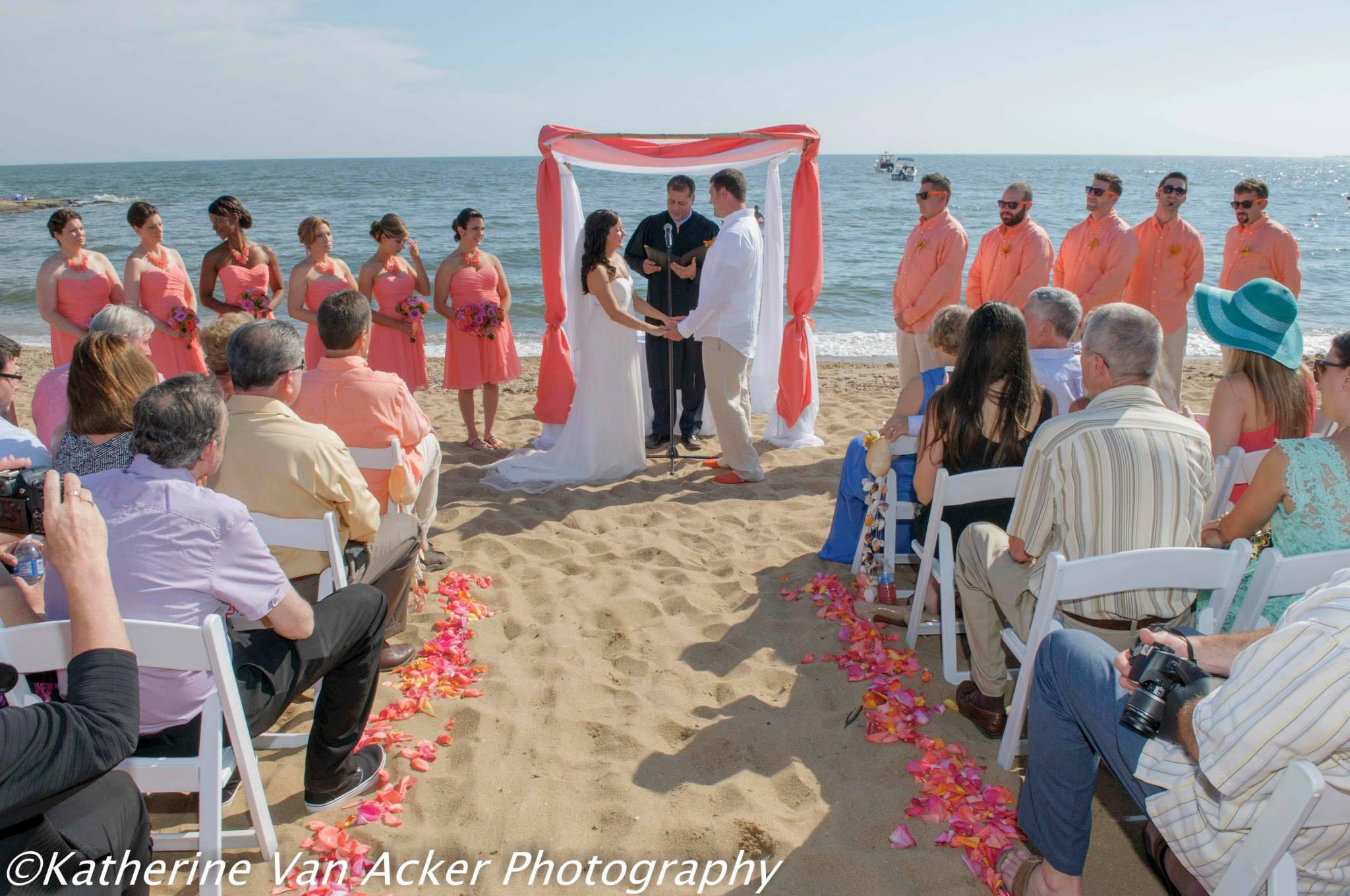 Madison Beach Wedding Ct