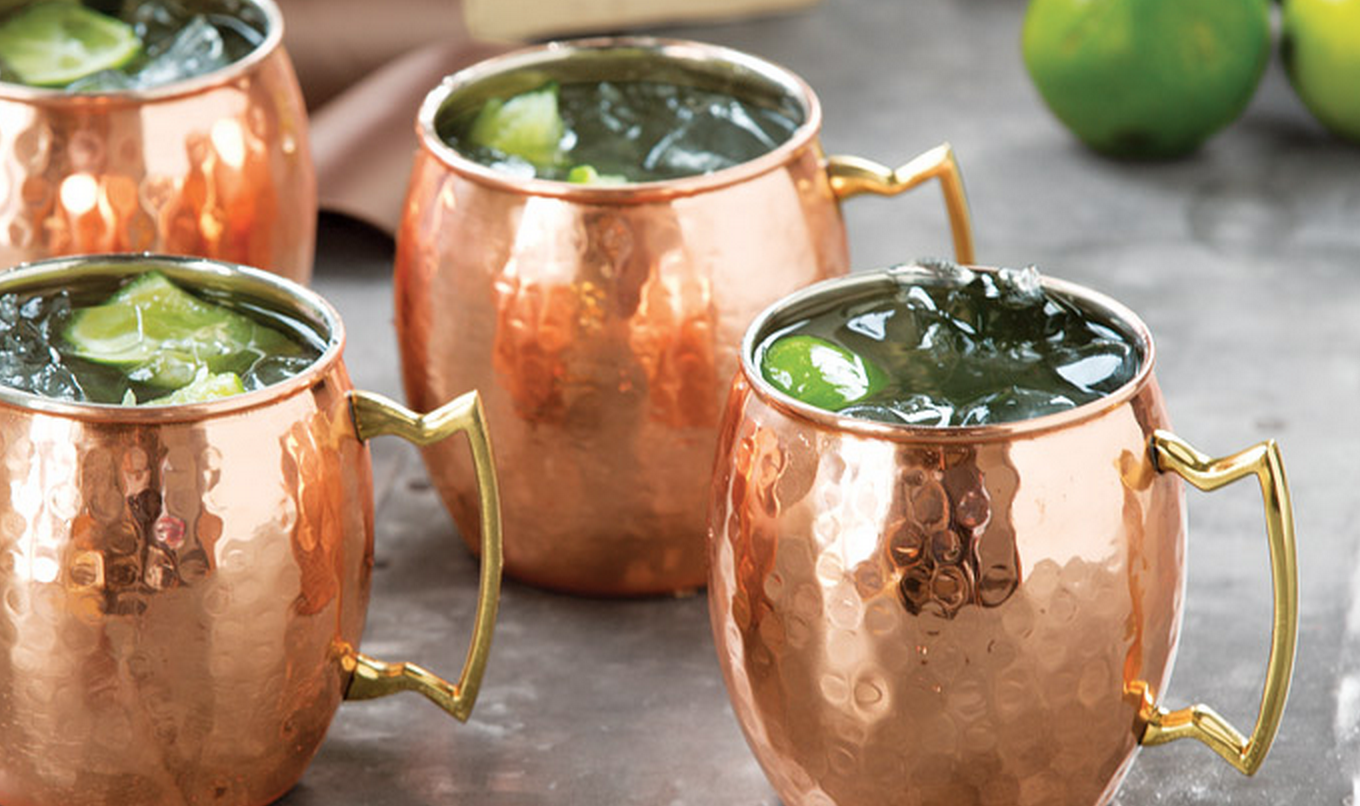 Popular signature drink the Moscow Mule