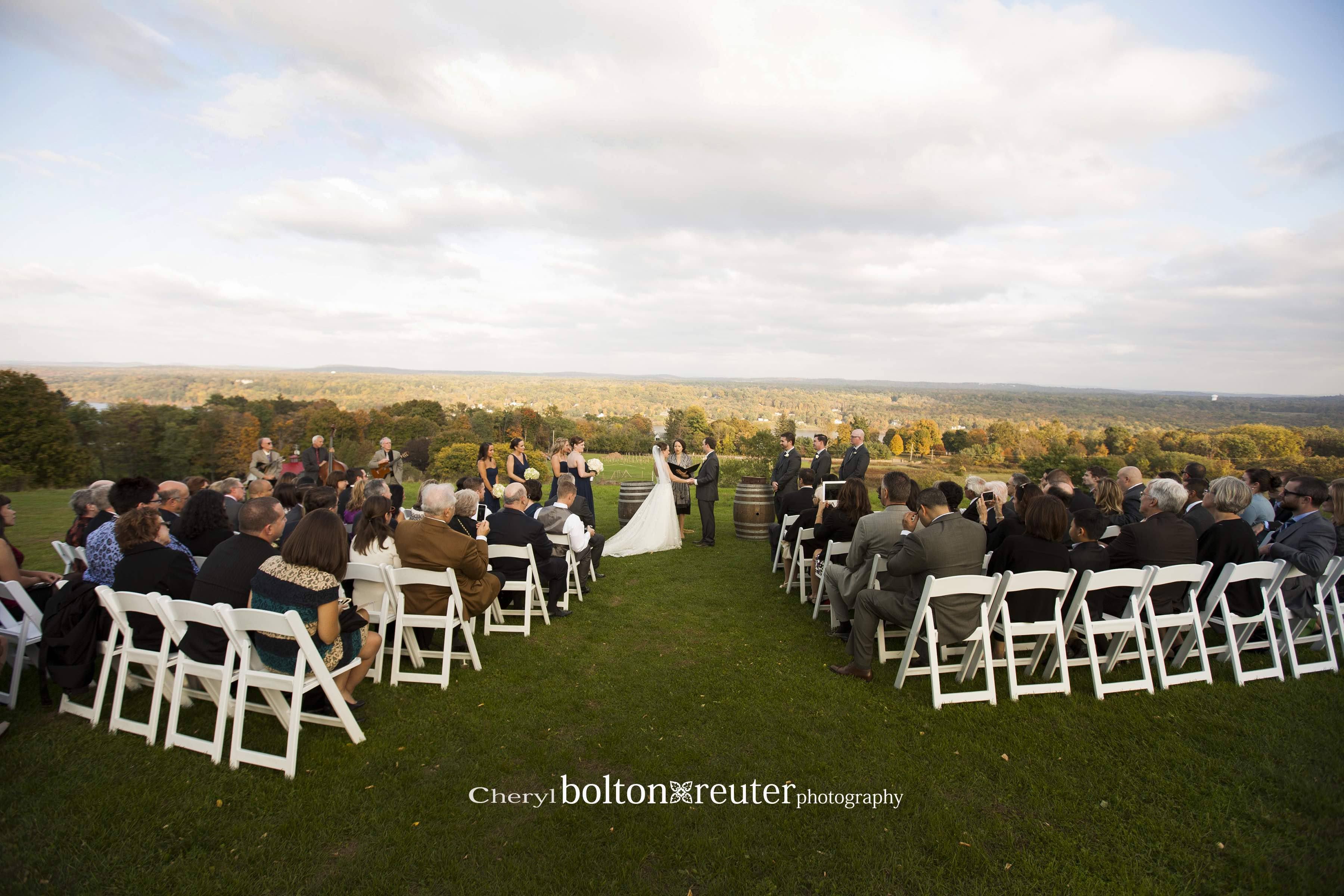 Red Maple Vineyard wedding Ceremony
