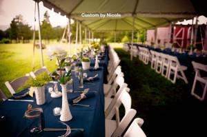 The Katterskill dinner tent music by DJ Domenic